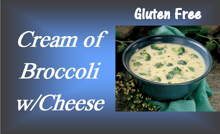 Cream of Broccoli with Cheese